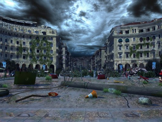 Πλατεία Αριστοτέλους post-apocalyptic
